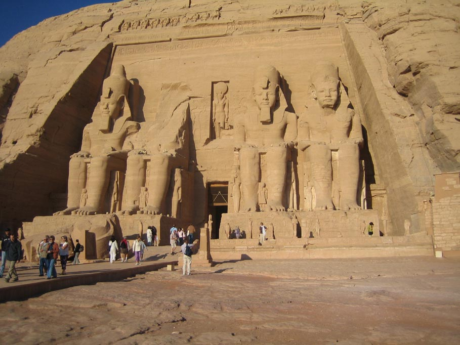 Abu Simbel - Tempel von Ramses II.